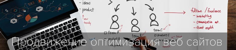 Продвижение оптимизация веб сайтов