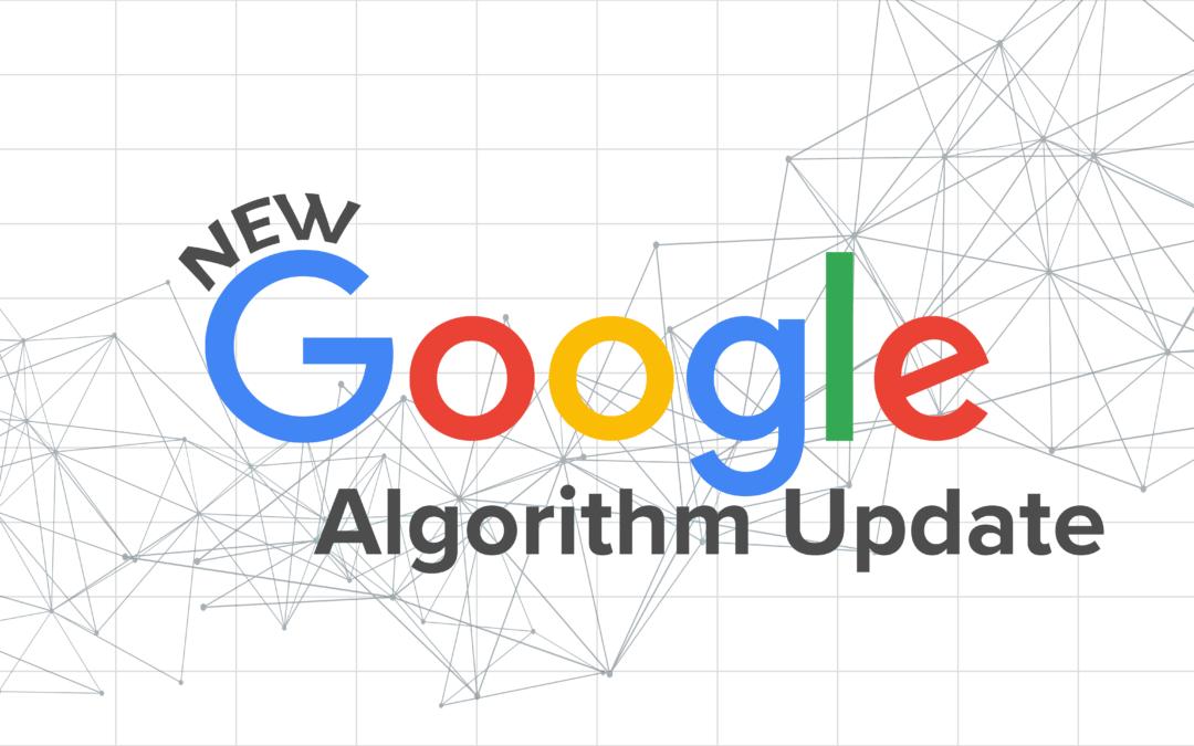 Изменения алгоритма Google 2021